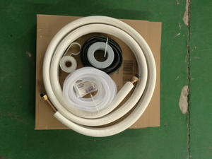 Aluminum connecting insulation tube kits 1/4-5/8 3m